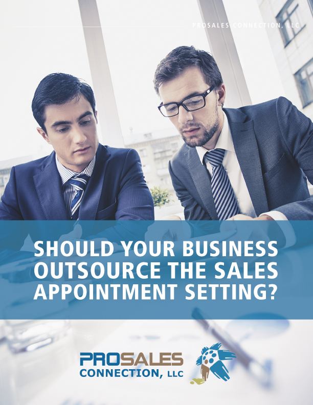 Should Your Business Outsource Sales Appointment Setting White Paper