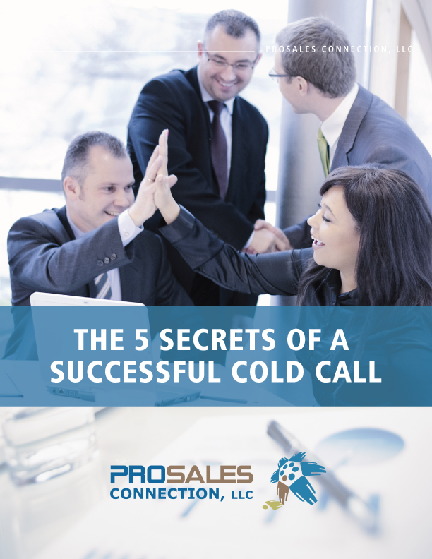 Download The 5 Secrets of a Successful Cold Call White Paper