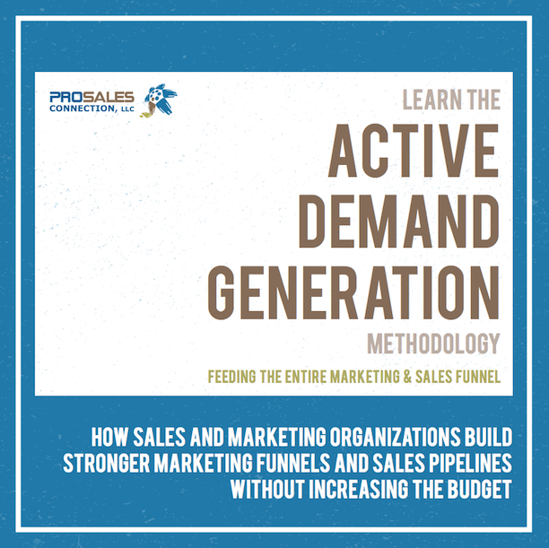 Active Demand Generation - ProSales Connection