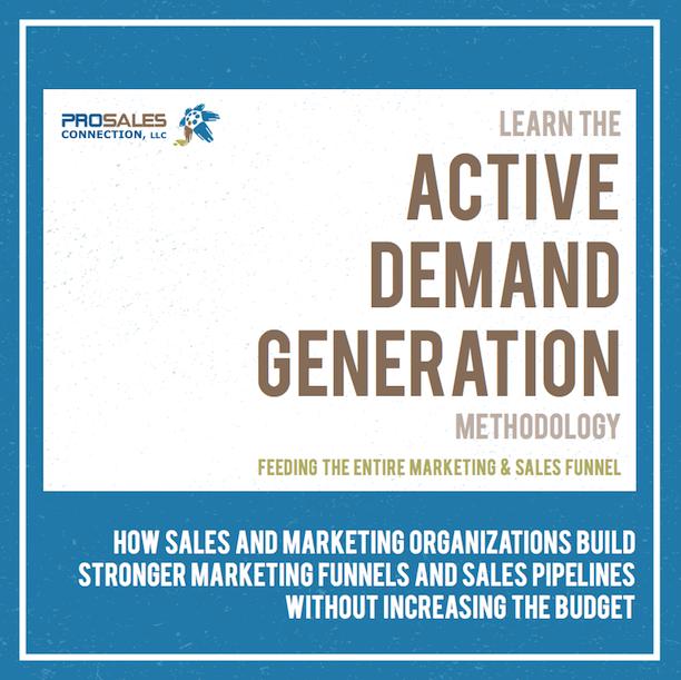 Active Demand Generation - ProSales Connection